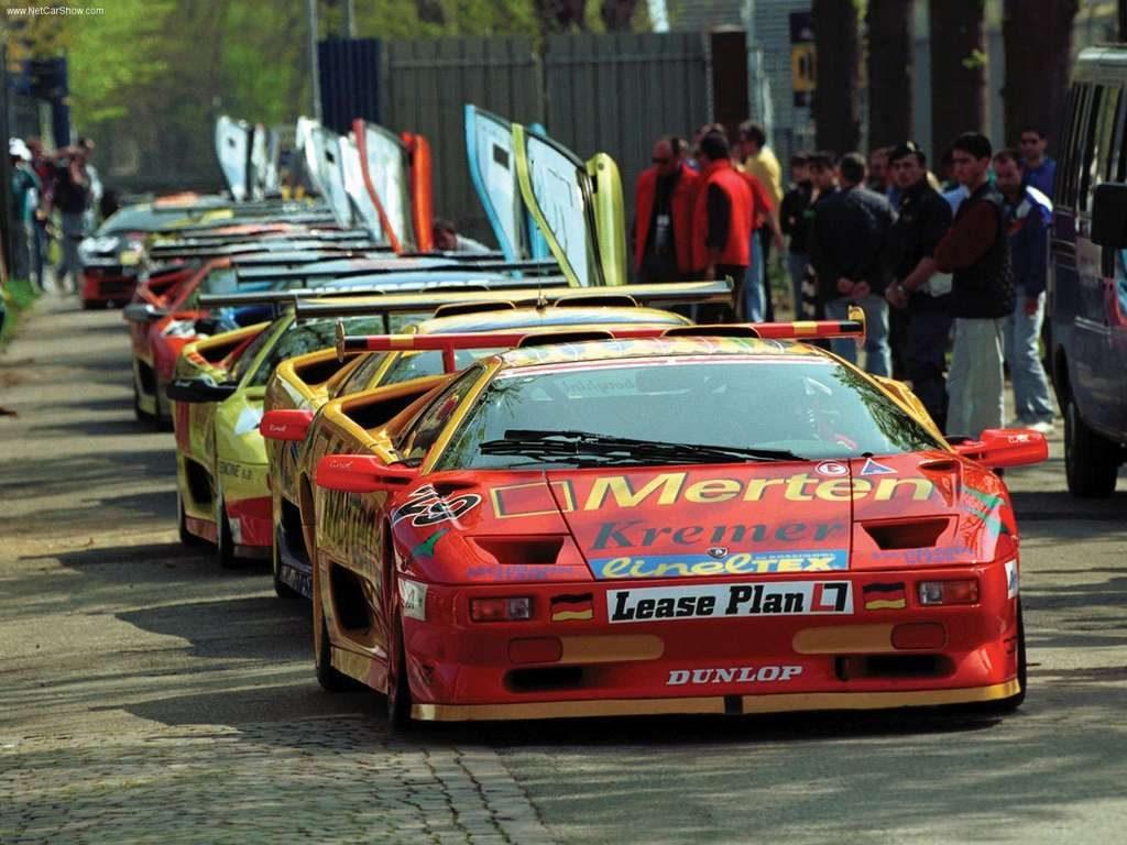 Lamborghini Super Trofeo 1996