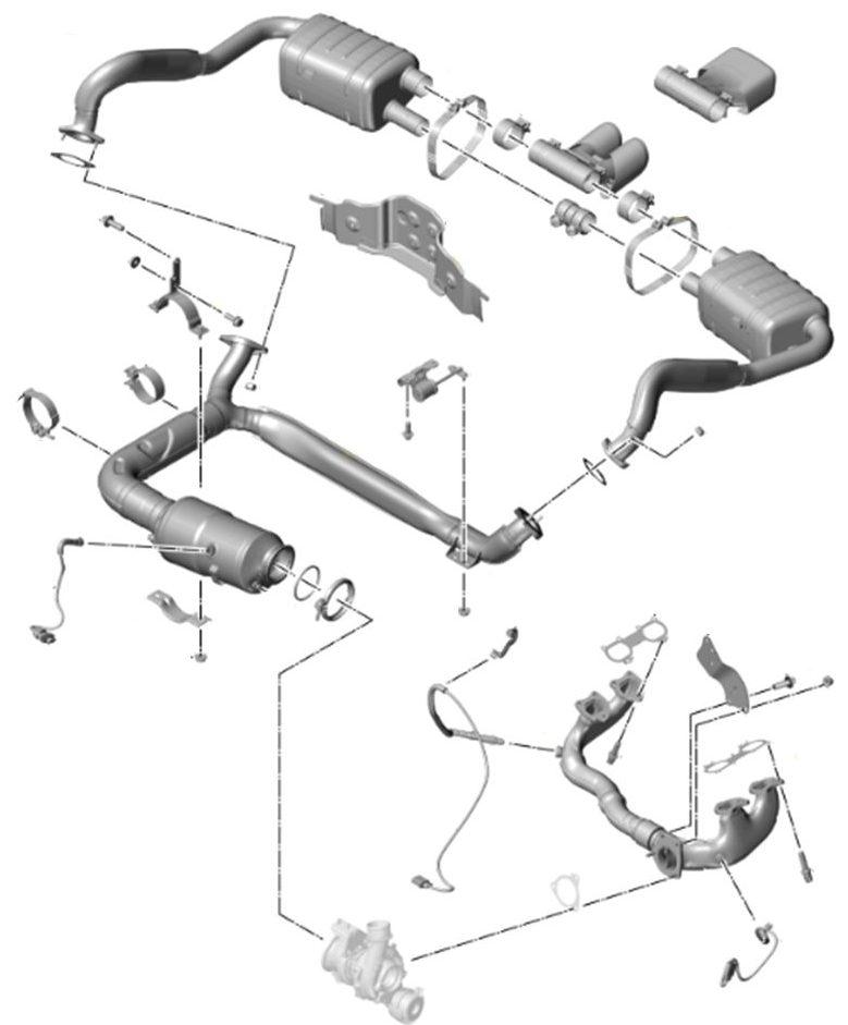 Porsche 718 2.0 and 2.5 Exhaust