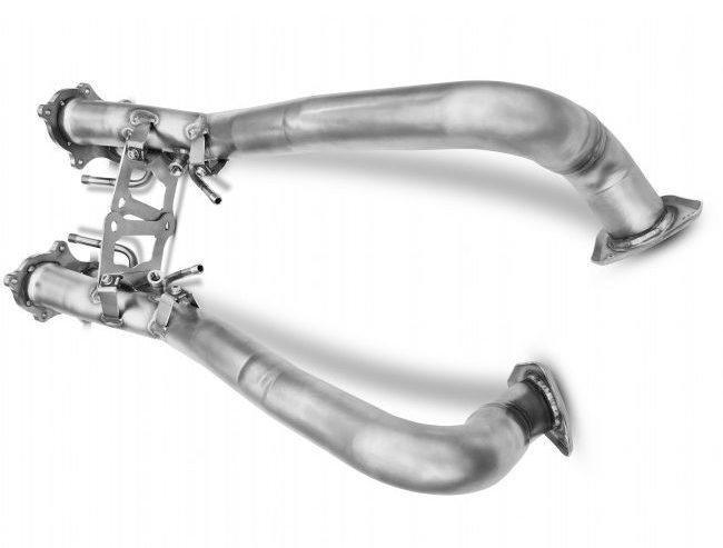 Porsche 718 4.0 GPF removal pipes