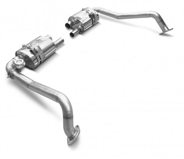 Porsche 718 Turbo performance mufflers