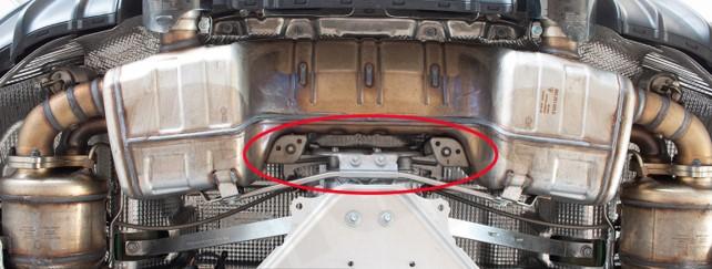 Porsche 718 4.0 GTS fixing method