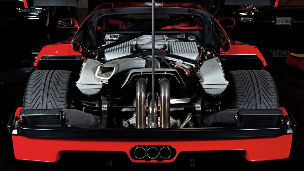 F40 Tubi Style LM exhaust
