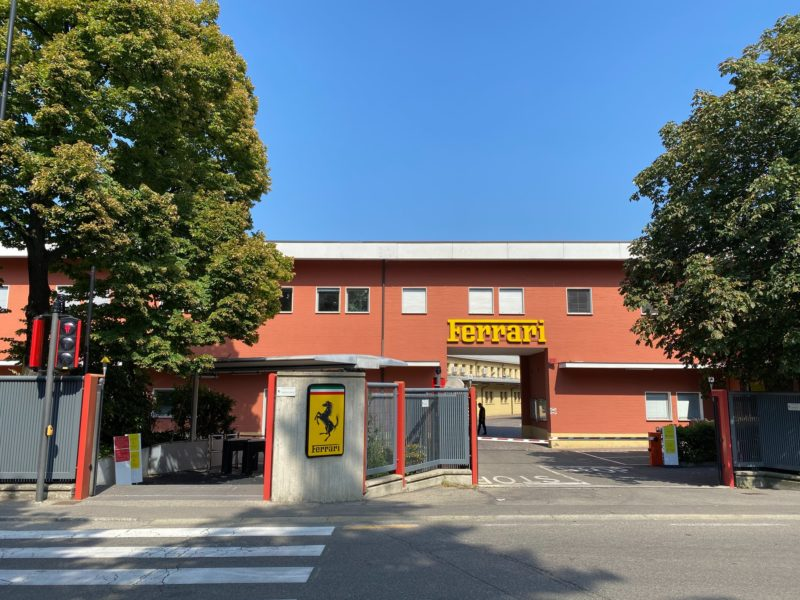 Maranello is the town of Ferrari and Tubi Style